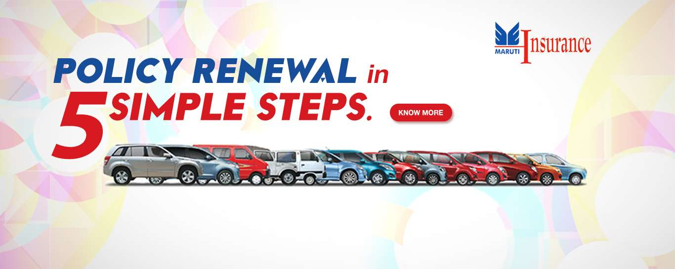 Maruti Insurance – Online Insurance Policy Renewal Facility