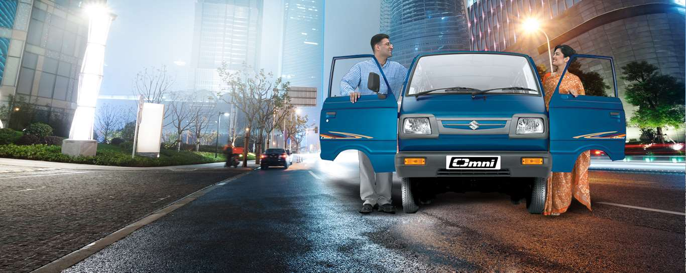 Omni – The most trusted Van in India. Available in 5 and 8 Seater, Cargo and Ambulance