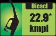 Diesel car mileage – 22.9 kmpl