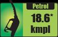 Petrol car mileage – 18.6 kmpl