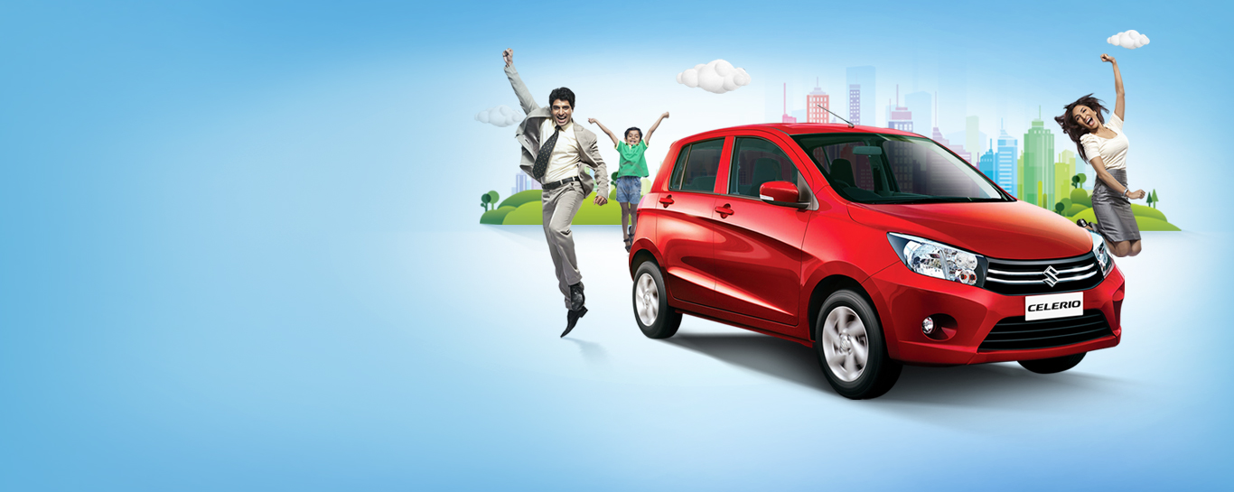 New Car from Maruti Suzuki – Celerio, the most fuel efficient car in India. Also available in CNG
