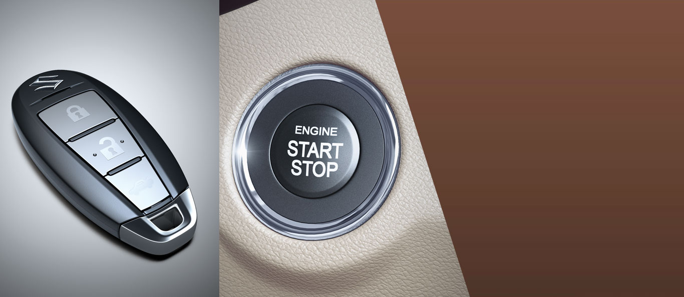Ciaz - Keyless Push Start System