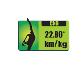 Best mileage LUV car in CNG
