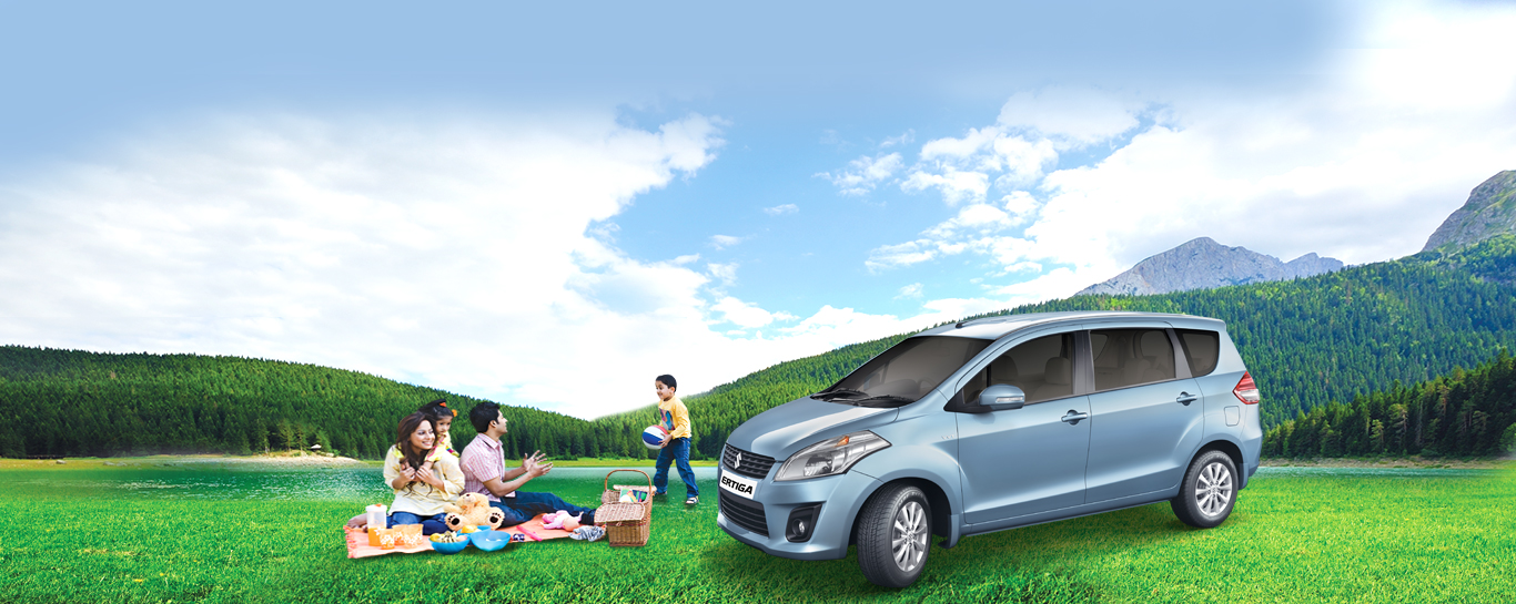 Life Utility Vehicle – Maruti Suzuki Ertiga. Also available in CNG now