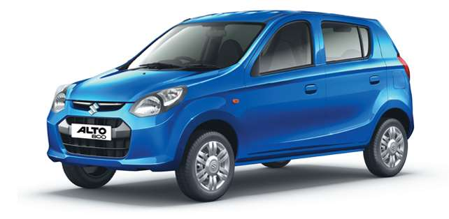 Alto 800 in New Frost Blue Color