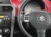 Maruti Ritz Interior Picture  - Steering mounted audio control