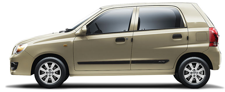 Alto K10 in ECRU BEIGE Color
