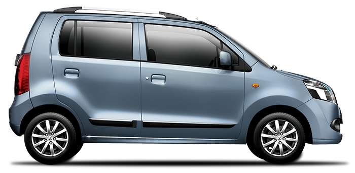 New WagonR in Breeze Blue Color