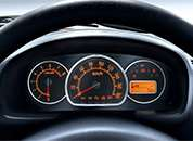 Alto K10 Car Interiors - Speedometer Cluster with Tachometer