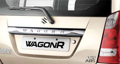 New WagonR Design – Chrome Engraved WagonR plate