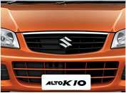 Alto K10 Exterior – Front Bumper and Grille