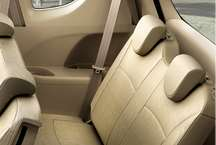 Ertiga third row seats picture