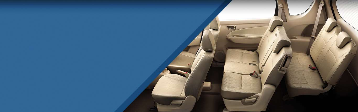 Discover the LUV in Ertiga spacious interiors, best in all SUV cars
