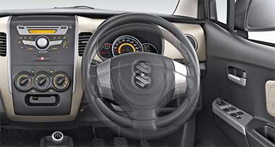 WagonR Interiors Pics – Tilt Adjustable Steering