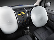 Driver Side Airbag for more safety in Stingray car