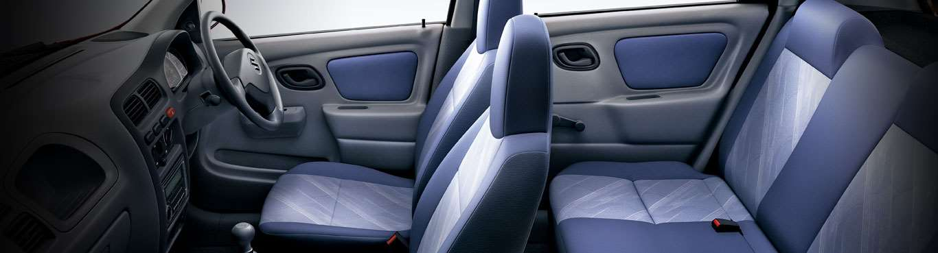 New Alto K10 Car Interiors