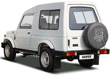 Check Maruti Gypsy Exteriors  Maruti Gypsy- Best Petrol SUV