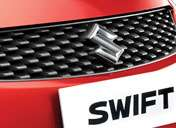 Maruti Swift Exterior - New dynamic grille