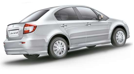 SX4 comes with Factory-fitted CNG kit