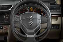 Dzire Interior Pic - Tilt Adjustable Steering Wheel