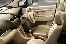 Maruti Ertiga - All seats upright