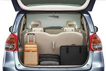 Versatile load space in your Ertiga car