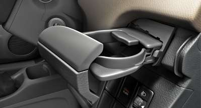 WagonR Interiors Pics – Push Type Cup Holders