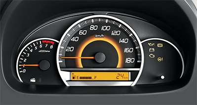 WagonR Interiors Images – Digital Fuel Indicator