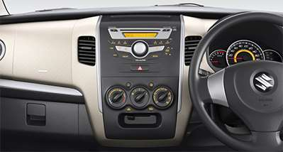 WagonR Interiors Images – New Eagle Wings Audio Systems system with USB