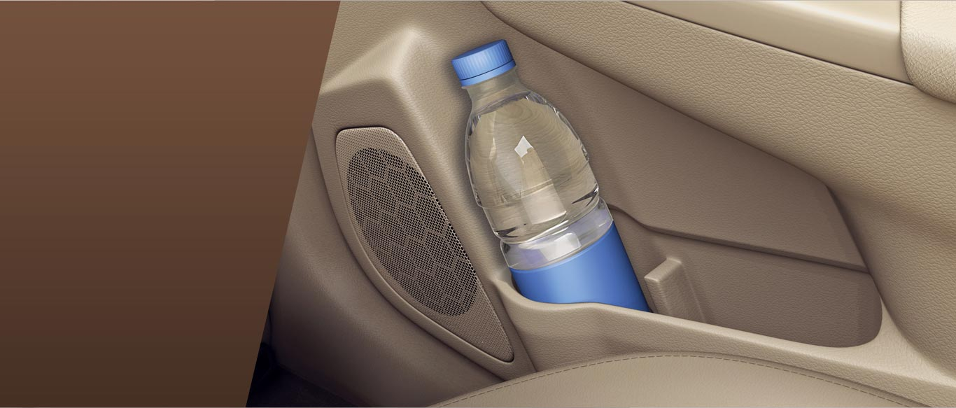 Door Bottle holders View - Maruti Suzuki Ciaz