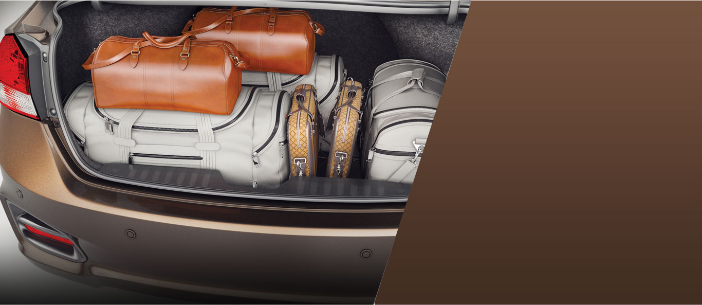 Boot Space (510 L) - Ciaz