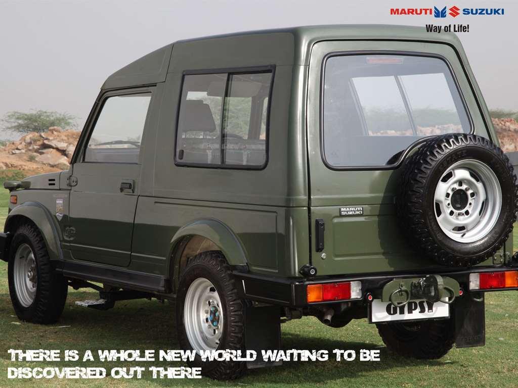 Maruti Gypsy The Advantage Suv In India New Suv Car