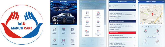 Maruti Care Application
