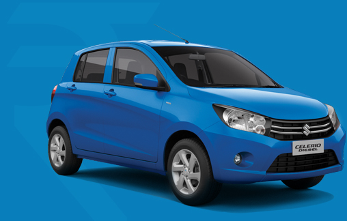 Get a price quote for the CELERIO Diesel Car