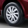 Motion themed alloy wheels