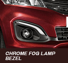 chrome fog lamp bezel