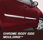 chrome body side moulding
