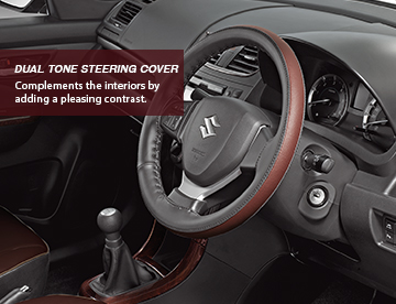 dual tone steering cover