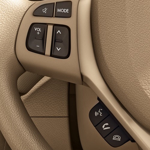 Steering Mounted Audio and Calling Controls