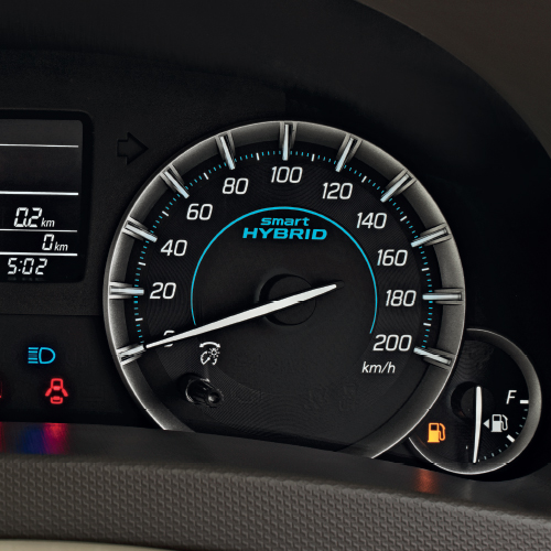 Ertiga Stylish Meter Cluster with LCD Display