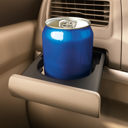 Ertiga Retractable Cup Holder on Dashboard