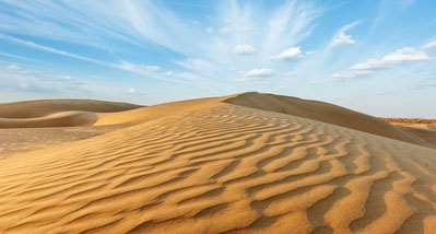 No problem in Desert too