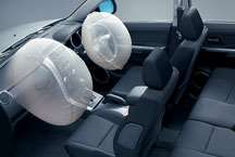 Dual front air bags