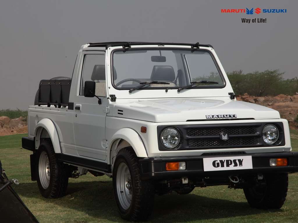 Maruti Gypsy- The Advantage SUV in India, New SUV Car