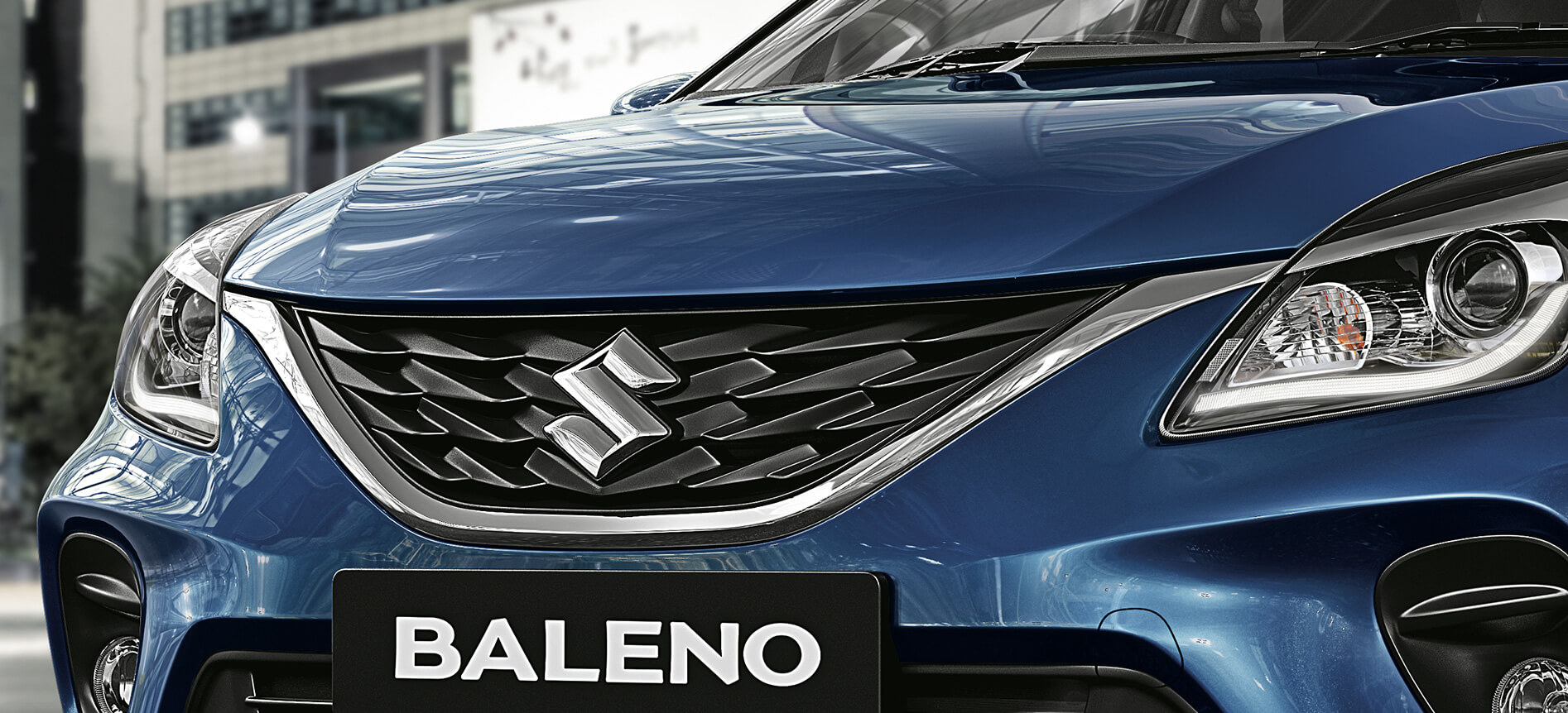 New Baleno Front Grill