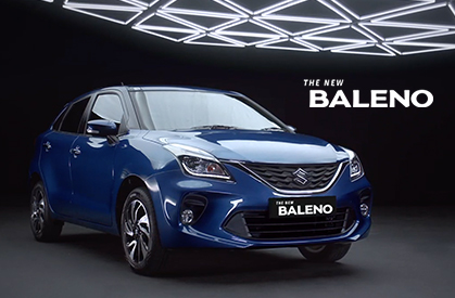 Baleno Owned by The Bold. Aspired by All.