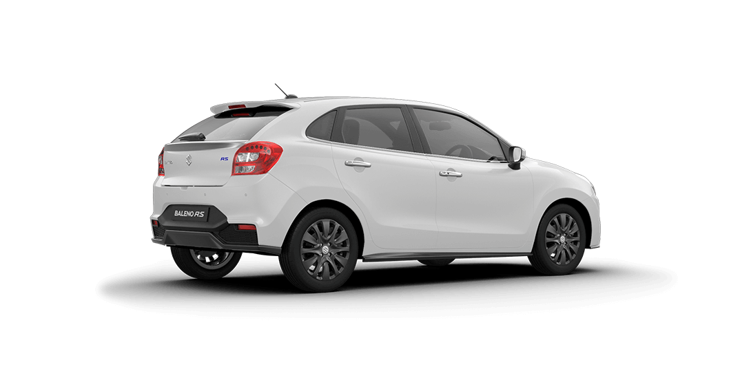 Baleno Arctic White car views