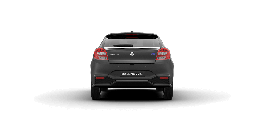 Baleno Grey car views