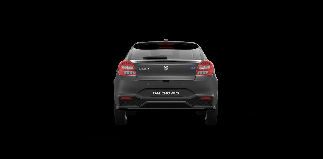 Baleno RS Grey Car back View