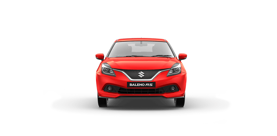 Baleno Red car views